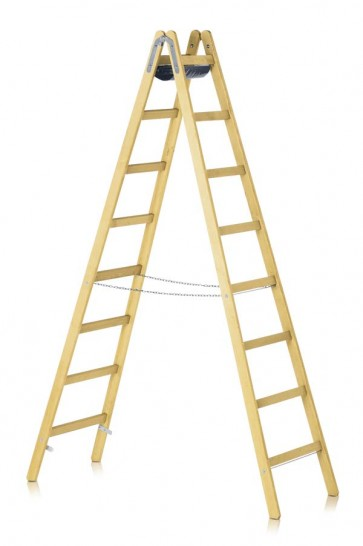 ZARGES Crestamax B (Z600) Ξύλινη σκάλα διπλής πρόσβασης