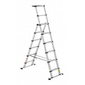 ZARGES Ζ300 Τηλεσκοπική σκάλα πολλαπλών χρήσεων