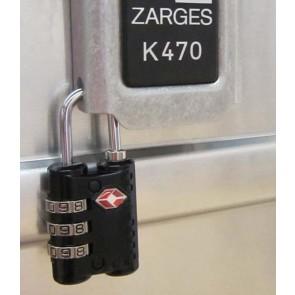 ZARGES Λουκέτο συνδυασμού TSA