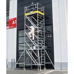 ZARGES MultiTower 2DT (Z600) Κινητή σκαλωσιά με σκάλα και πλατφόρμα 1,20x1,80