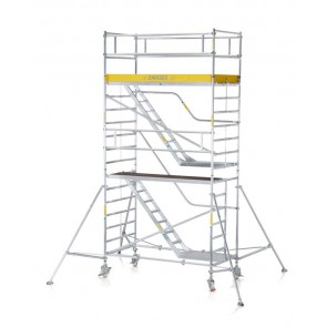 ZARGES MultiTower 2DT (Z600) Κινητή σκαλωσιά με σκάλα και πλατφόρμα 1,20x2,50