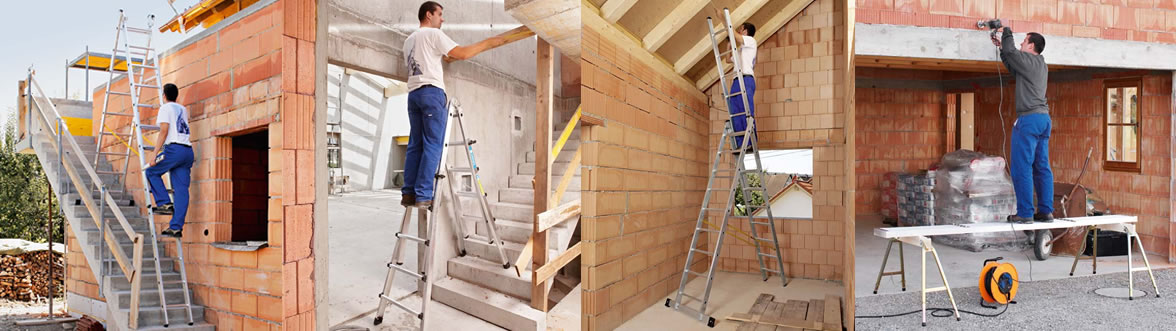 Μια σκάλα Zarges… πολλές χρήσεις!